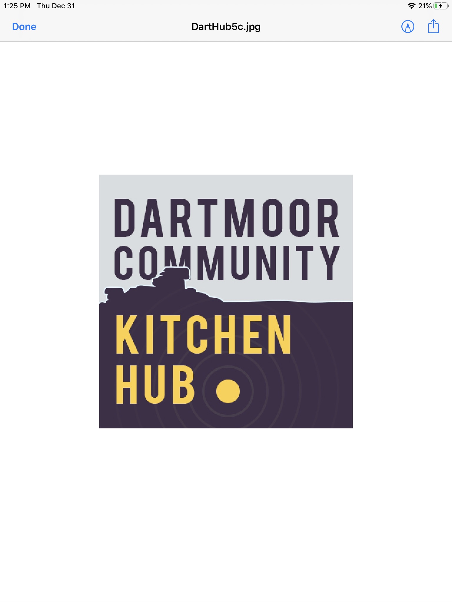 Dartmoor Community Kitchen Hub