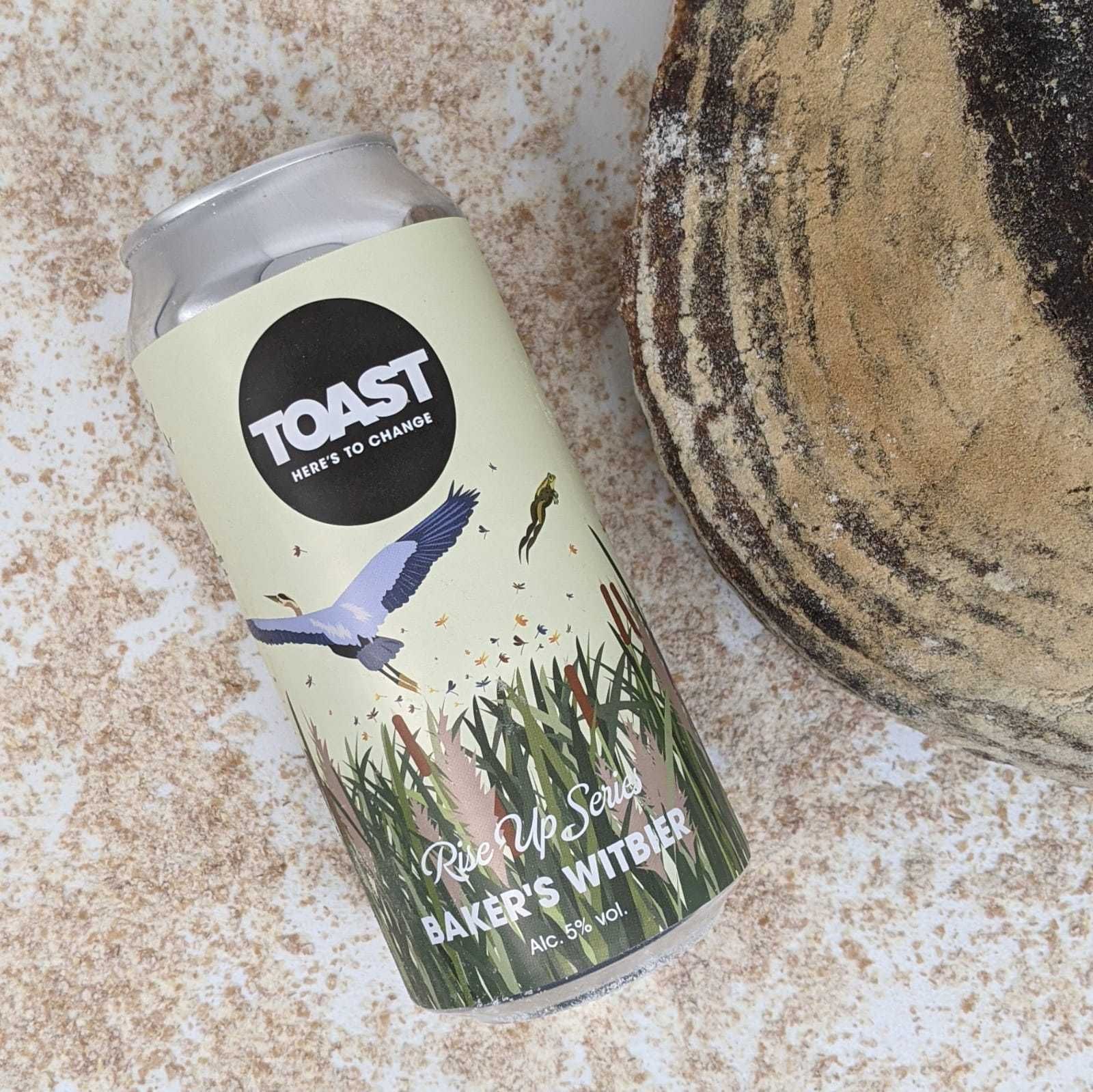 Toast Ale and Hobbs House Bakery launch a beer to change the food system.
