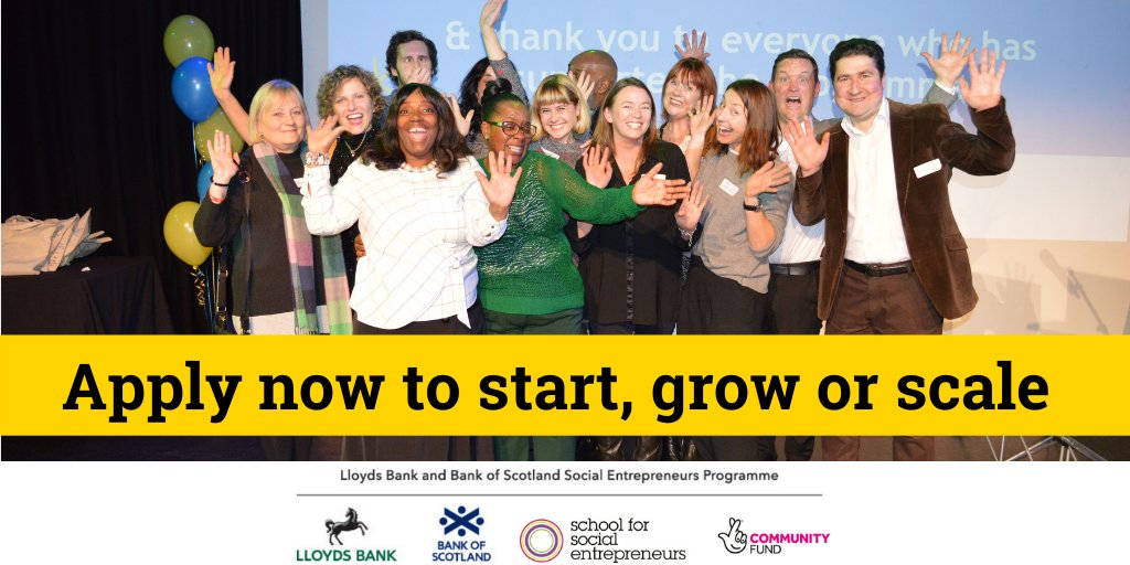 UK's biggest social enterprise support programme opens 10th round of applications